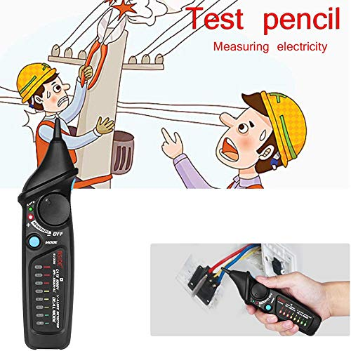 Multi-function Automotive Tester Pen Type Digital Vehicle Electrical Circuit Checker With Non-Contact Ac Voltage Detector Of Led Indicator Test Pencil Intelligent Safety Induction Flashlight -
