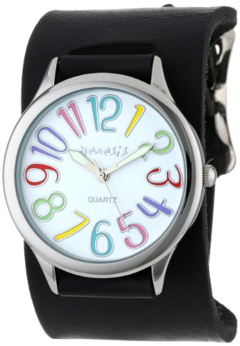 Nemesis Women's THN108W Colorful Different Color Numbers Watch