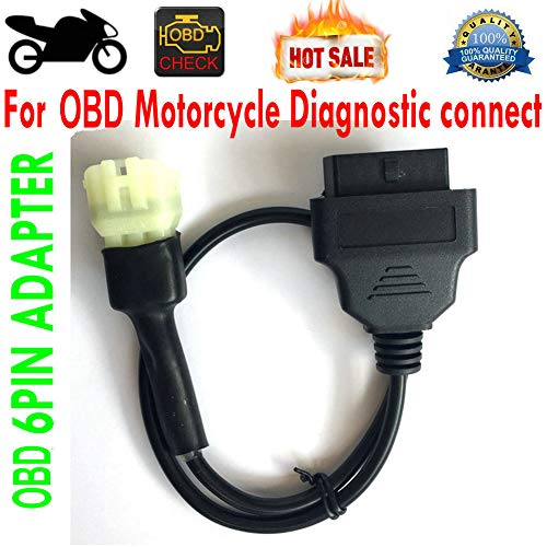 OBD 6pin Motorcycle Adapter 6 Pin moto 6-Pin Motor Cable OBDII OBD2