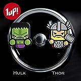 Bello da 2 deodoranti per auto! Marvel Avengers Hulk, Thor,, Iron Man, Captain America, Black Widow e Hawkeye, trasformare le alesatrici Car! spedizione gratuita IN 2 a 3 giorni lavorativi.