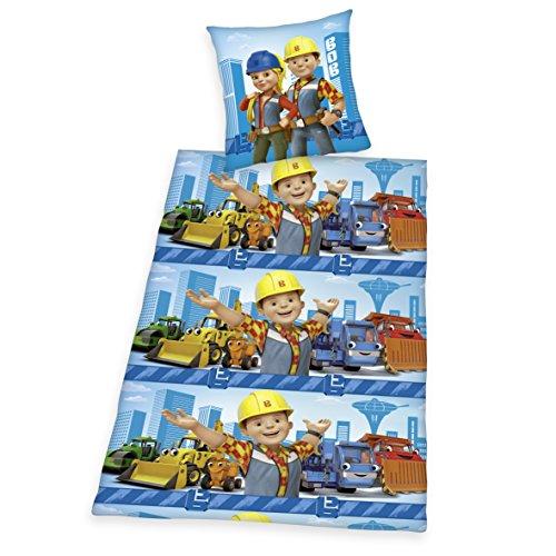 herding-4662306050-bob-the-builder-ropa-de-cama-135-x-200-cm-algodon-azul
