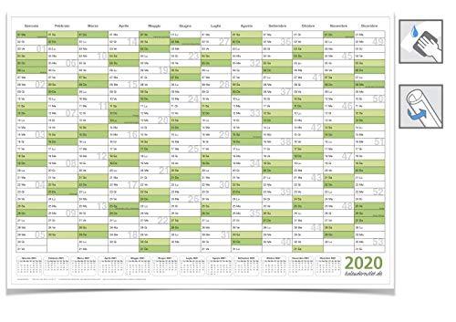 Calendario Scrivibile.Calendario Da Muro 70x100 Grandi Sconti Calendari
