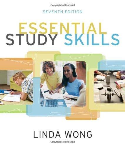 Essential Study Skills (Textbook-specific CSFI) by Linda Wong (2011-01-01)
