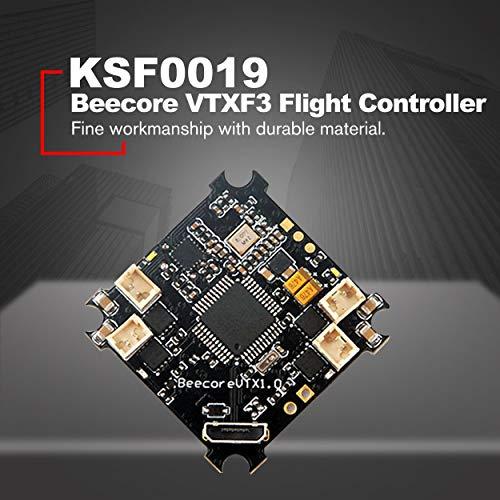 Lorenlli Ajuste Beecore VTXF3 Controlador de Vuelo Cepillado con 25MW Fotografía OSD AV Transferencia Drone Quadcopter Tiny 6 7 6X 7X Control de Vuelo