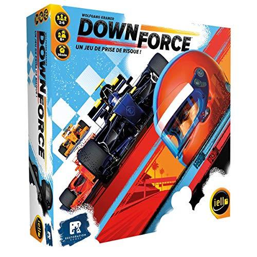 Iello 51507 - Rennspiel - Downforce (Formel E-brettspiel)