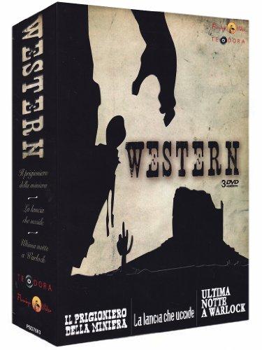 Western - Il prigioniero della miniera + La lancia che uccide + Ultima notte a Warlock [3 DVDs] [IT Import]