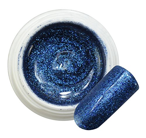 Boreal Blue 002 GEL COLOR GLITTER 5ml Bsn Professional