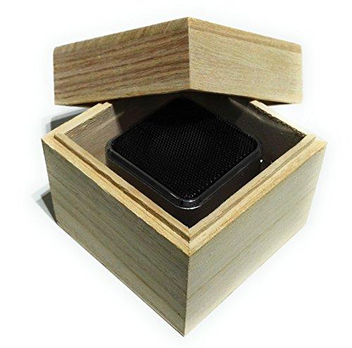 Preisvergleich Produktbild Kamin Knister Soundbox Typ 2 - Holzfeuer Knisterfeffekt Modul für Elektrokamin, Gelkamin, Gaskamin und Ethanol Kamin quadratisches Design