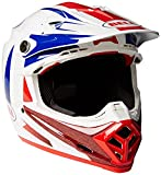 Bell Cascos MX 2017Moto-9Flex adultos casco, Azul/Rojo, tamaño XL