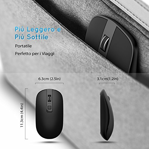 Zoom IMG-2 topelek mouse wireless senza fili