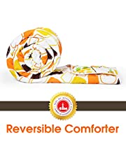 Divine Casa Reversible Microfibre Comforter/Blanket/Quilt/Duvet & Comforter, Ac Single