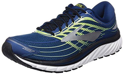 Brooks Glycerin 15, Scarpe da Running Uomo, Multicolore (Blue/Lime/Silver), 45.5 EU