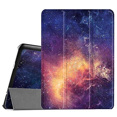 Fintie Samsung Galaxy Tab S2 9.7 Étui Housse - Slim Fit PU cuir étui Coque Case Cover avec Support Ultra-Mince et Léger et la Fonction Sommeil/Réveil Automatique pour Samsung Galaxy Tab S2 Tablette 9,7
