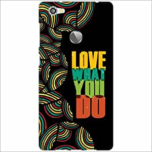 Letv LE 1s Back Cover - Silicon Love What You Do Designer Cases