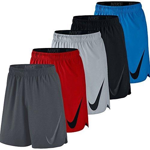 Nike HYPERSPEED WOVEN 8SHRT– HerrenShorts, Schwarz - Negro (Black/Black), Gr. XXL (Nike Woven Pant Herren)