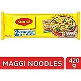 Nestlé MAGGI 2-minute Instant Noodles, Masala – 420g Pouch
