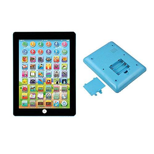 Gaddrt Kinder Kinder Tablet IPAD Pädagogische Lernspielzeug Geschenk Für Mädchen Jungen Baby Computer lernen 18.5x14.3x2cm