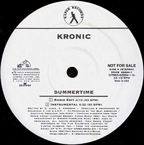 Summertime [Vinyl Single 12'']