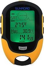 Multifunktions Digitale Höhenmesser Barometer Kompass (Sunroad Modell FR-500) von Sunroad