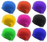 Stoffbadekappe »Guppy« Unisex aus langlebigem Qualitäts-Guppystoff, sehr elastisch, passt sich jeder Kopfform perfekt an, navyblau