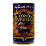 Oliven gefüllt mit Knoblauch / Aceitunas rellenas de ajo - 350 gr