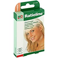 RATIOLINE sensitive Pflasterstrips in 2 Groessen, 10 St preisvergleich bei billige-tabletten.eu