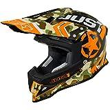 Just 1 Helmets 606320080102303 Casco J12 Kombat, Arancio, S