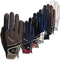 ROECKL Handschuhe MADRID Comfort Cut, schwarz/gold, 6