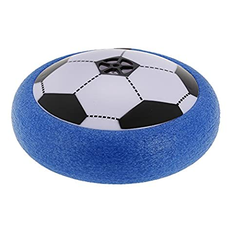 Goolsky 777-804 14cm Air Power Football Floating Soccer Enfants Sport Jouets Formation Football Indoor Outdoor avec LED