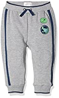 Pumpkin Patch Baby Boys 0-24m Knee Patch Jogger Track Bottoms, Grey (Athletic Marle), 3-6 Months