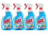 Ajax Triple Action Nettoyant Vitre Spray 750 ml - Lot de 4