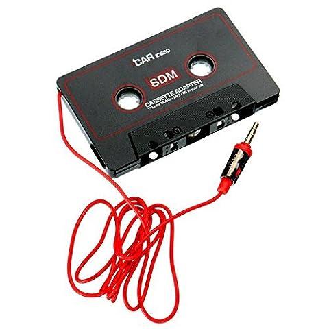 Cassette Jack - AUDEW 3.5mm Voiture Autoradio Stéréo Cassette Adaptateur