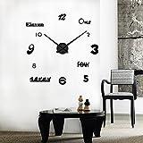kaige DIY Uhr stumm DIY Uhr DIY stumm Uhr Wohn-Zimmerwand
