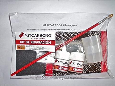 Kit de Fibre de Carbone 3 K Plain Kitevopro