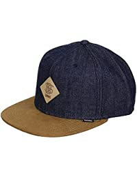 DJINNS - Rhomb (cognac/indigo) - Snapback Cap