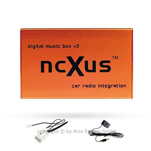 Preisvergleich Produktbild ncXus V3 Pro 12-Pin USB SD MP3 CD Wechsler Interface für VW AUDI SKODA SEAT mit Bluetooth A2DP