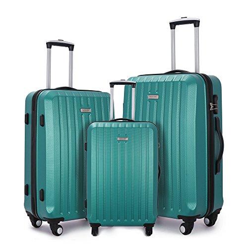 Fochier Gepäck Set Leichter Hard Shell Spinner Koffer 3 Stück (20
