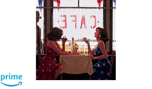 Cafe Days by Jack Vettriano High Quality Print 40 x 50cm Genuine 2019©