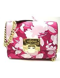 b337a574d4e8 Michael Kors Michael Kors Tina Small Clutch & Cross-body Bag (Granita Pink)