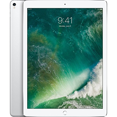 APPLE 12.9 iPad Pro - 64 GB, Silver (2017), Silver lowest price