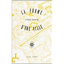 La Forme d'une ville (livre non massicoté)