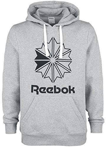 Reebok Herren C Big Logo Sweatshirt, Mehrfarbig (brgrin), M (Reebok Sweatshirt)