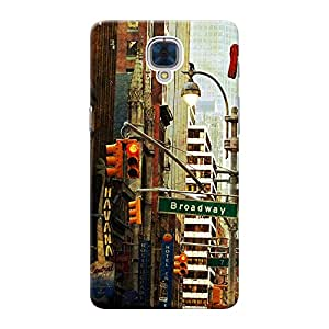 INKIF Printed Designer Mobile Back Cover / Back Case For One Plus Three/ One Plus 3 / Oneplus 3