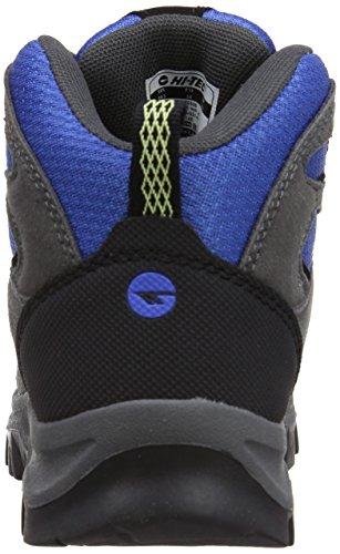 Hi-tec Hillside, Chaussures de Randonnée Hautes Garçon Bleu (charcoal/blue)