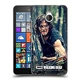 Offizielle AMC The Walking Dead Lauern Daryl Dixon Ruckseite Hülle für Microsoft Lumia 640 XL