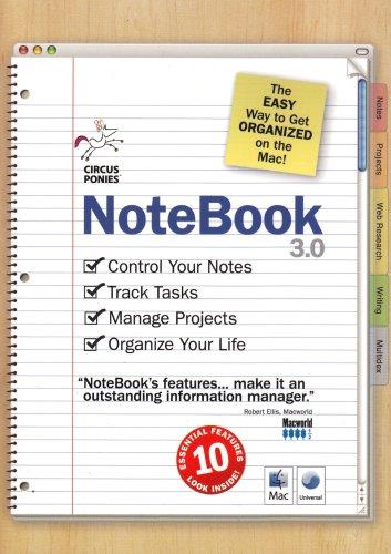 Preisvergleich Produktbild NoteBook 3 (Mac CD)