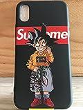 Phone Tattoo Coque Silicone Iphone X : Sup (Livraison Gratuite en France) (Goku Shark...