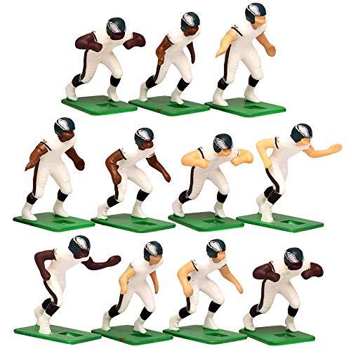 Philadelphia Eagles?White Uniform NFL Action Figure Set by Tudor Games
