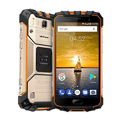 6GB RAM + 64 GB ROM 5,0 FHD Smartphone-Android 7,0 16MP cámara Trasera y 13MP Frontal cámara 4700mAh Octa-Core IP68 Impermeable al Aire Libre Ulefone Armor 2 teléfono móvil Tipo-C OTG HiFi GPS móvil