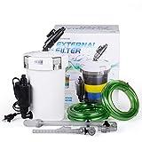 Pinkdose® Hw-602 Pre-Filter, 110-120V 60Hz: Sunsun Super Quiet 6W 400L/H Aquarium Fish Tank